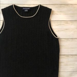 Classic Ann Taylor Cashmere Sweater Vest